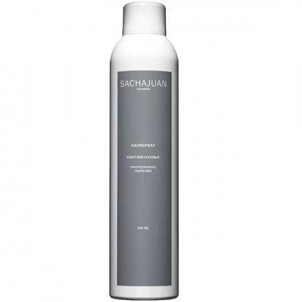Spray SachaJuan - Fixant Léger Souple - Hairspray light and Flexible - 300 ml