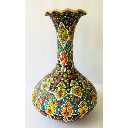Vase émaillé traditionnel