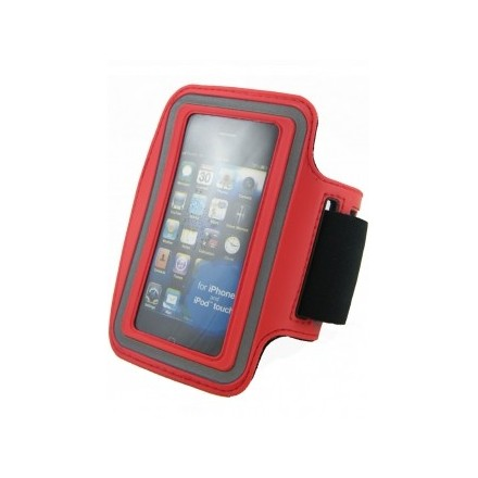 BRASSARD SPORT ROUGE IPHONE 3/3G et 4/4S