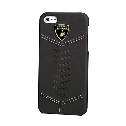 COQUE IPHONE 5 LAMBORGHINI COLLECTION NOIR MAGNETIQUE