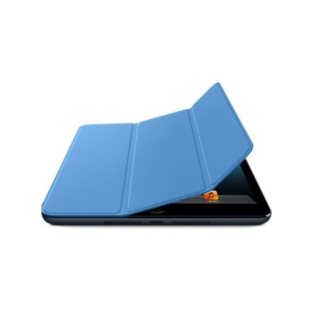 PROTECTION ULTRA FINE RABATABLE BLEUE POUR IPAD MINI