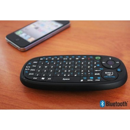CLAVIER QWERTY BLUETOOTH IPHONE / IPAD NOIR