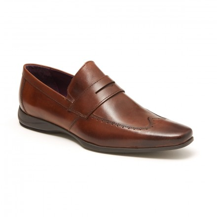 "Mocassin ""Charles"" Chocolate"